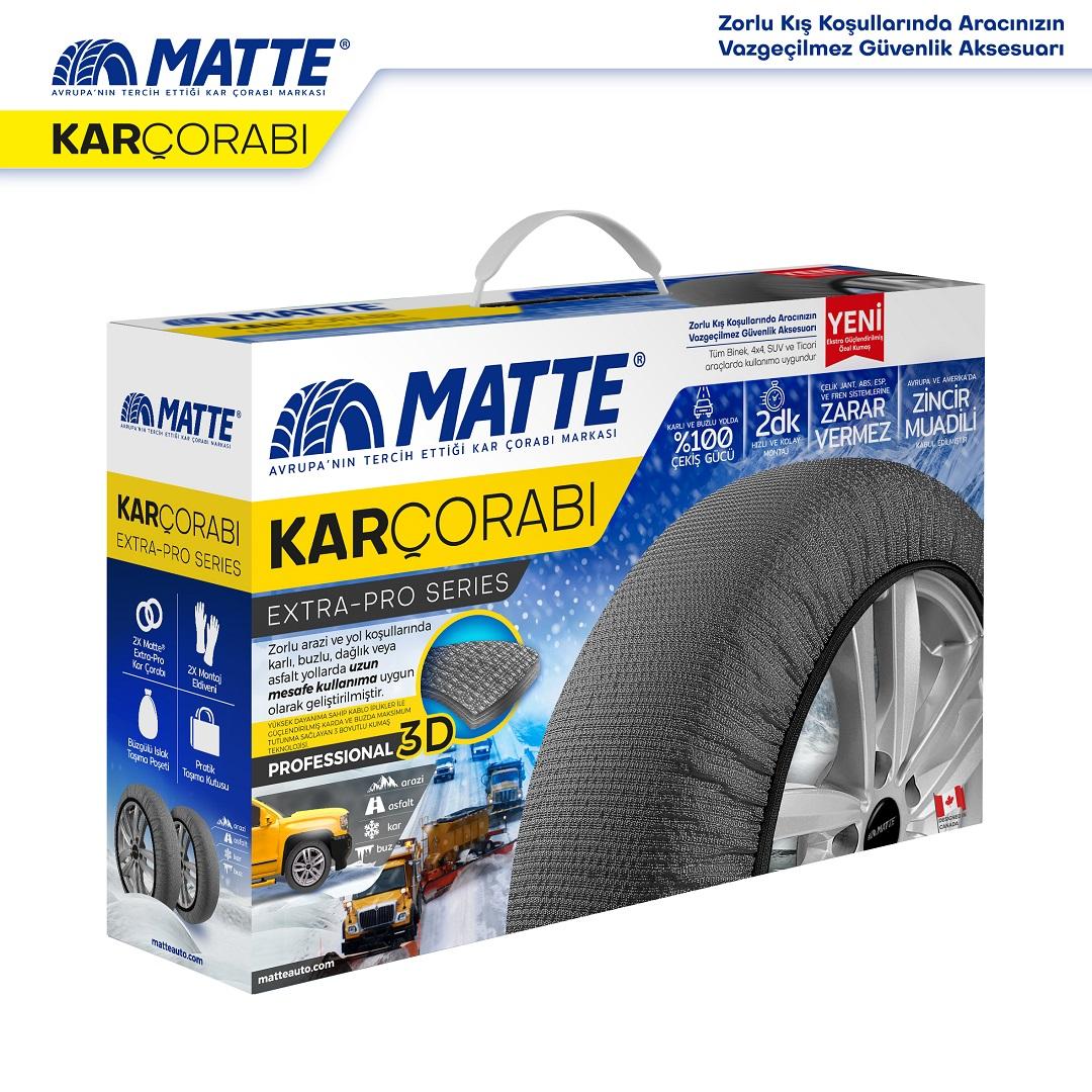 Matte Kar Çorabı Extra-Pro Series